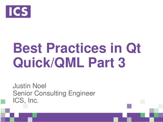 Best Practices in Qt Quick/QML - Part 3