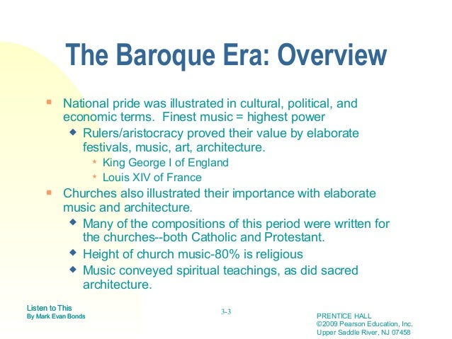 The baroque for What is the baroque period