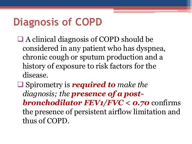 Diagnosing COPD