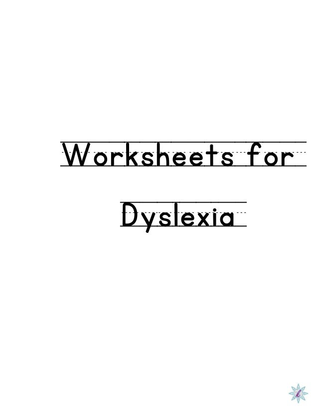 Worksheets Worksheets For Dyslexia worksheet for dyslexia