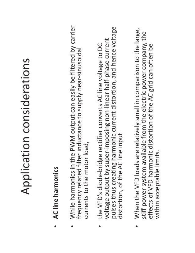 Part 3 motor application considerations understanding
