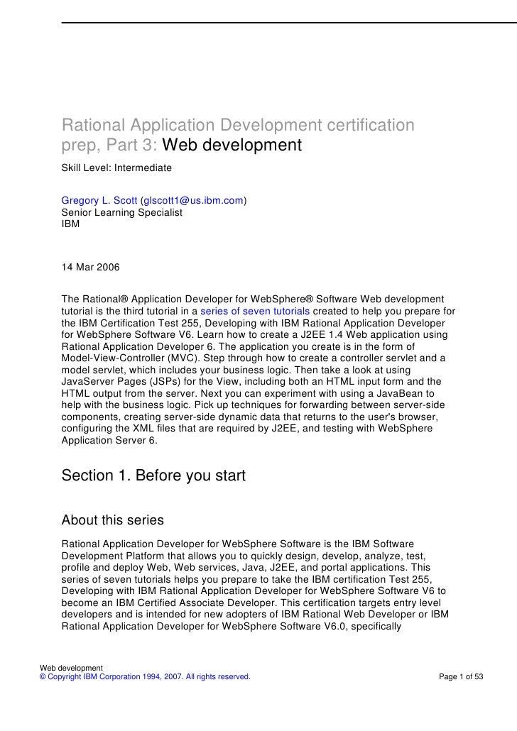 Part 3 Web Development
