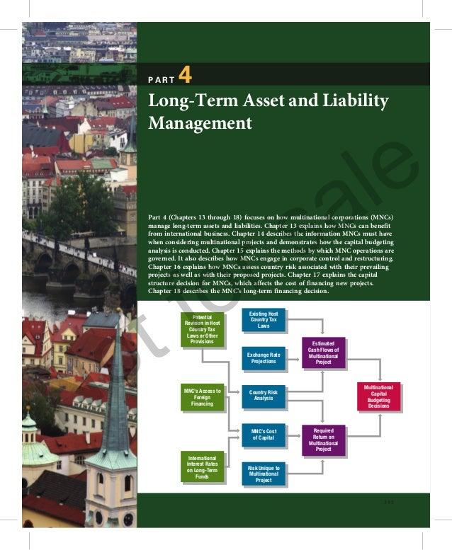 PART      4  Long-Term Asset and Liability                                                                      e  Managem...