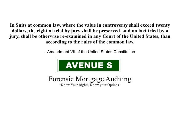 In Suits at common law, where the value in controversy shall exceed twenty  dollars, the right of trial by jury shall be p...