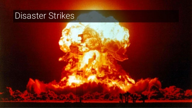 23 Disaster Strikes