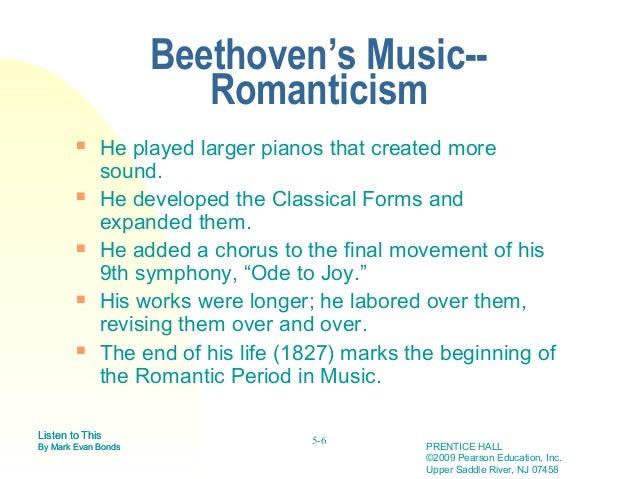 beethoven romantic period