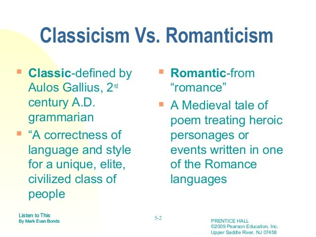 Romanticism & Enlightenment