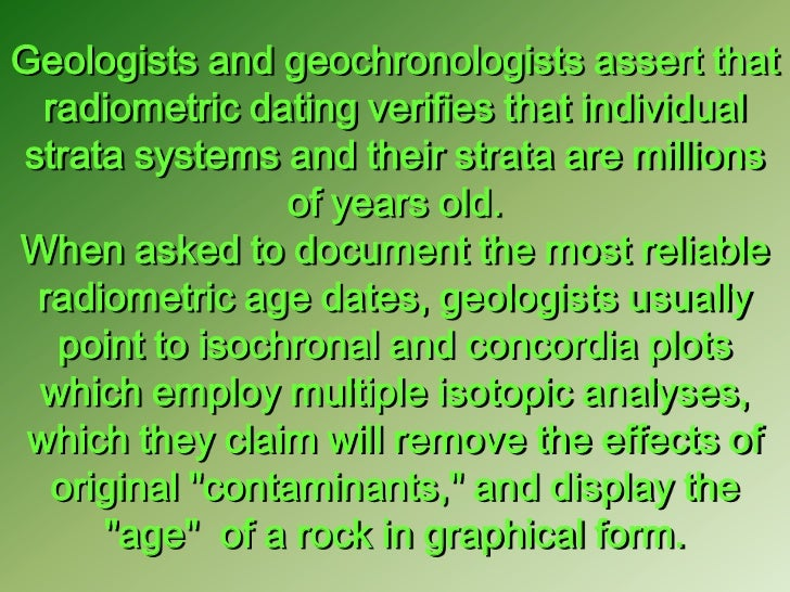 Isotopic Age Dating Would Be Most Reliable For Quizlet