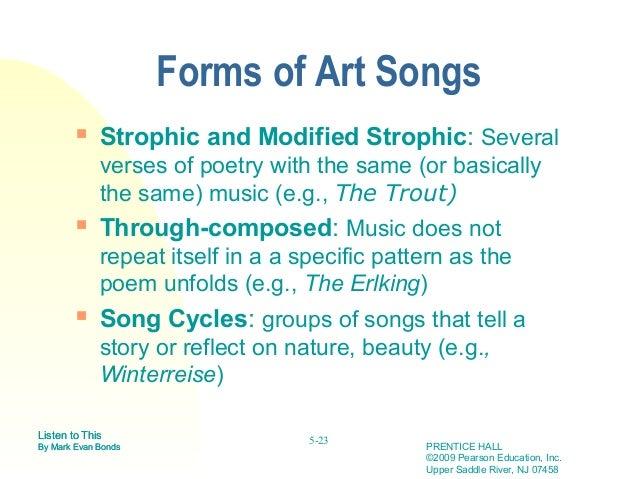 through composed form