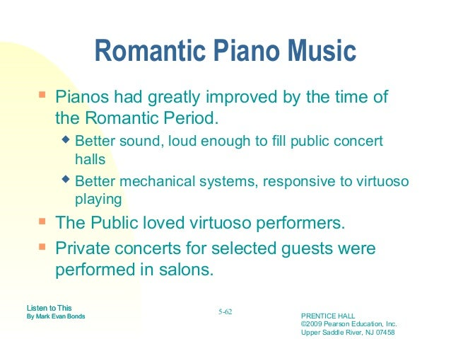 early romantic period music