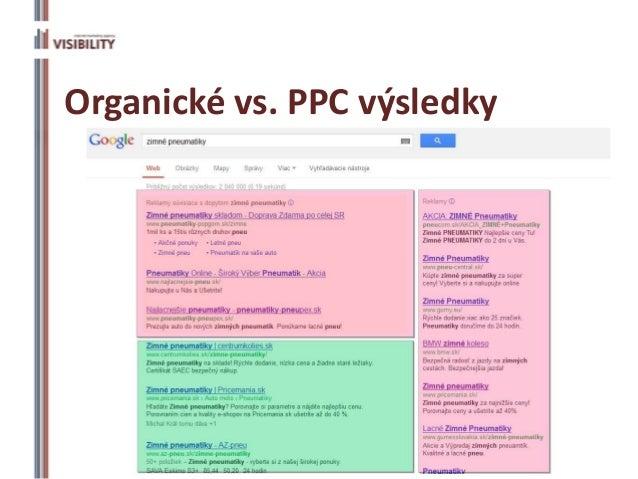 Organické vs. PPC výsledky            Podnikajte.sk 2013   10