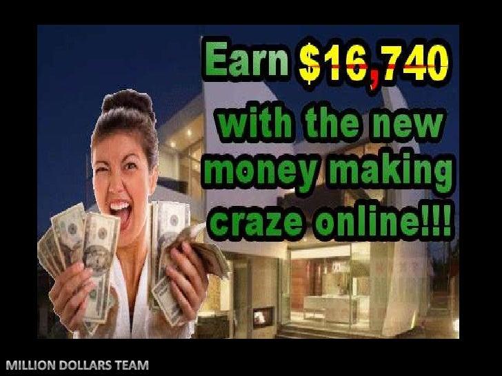 MILLION DOLLARS TEAM<br />