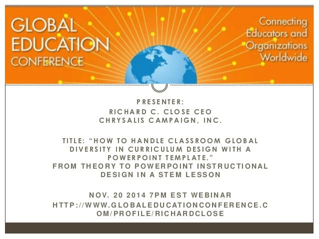 part 6 how to handle classroom global diversity in curriculum design