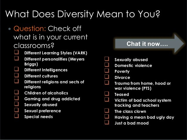 Part 6 how to handle classroom global diversity in curriculum design 8 toneelgroepblik Choice Image