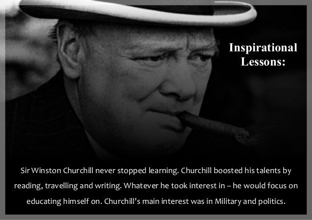 Lessons to Learn from Winston Churchill | The Art of Manliness