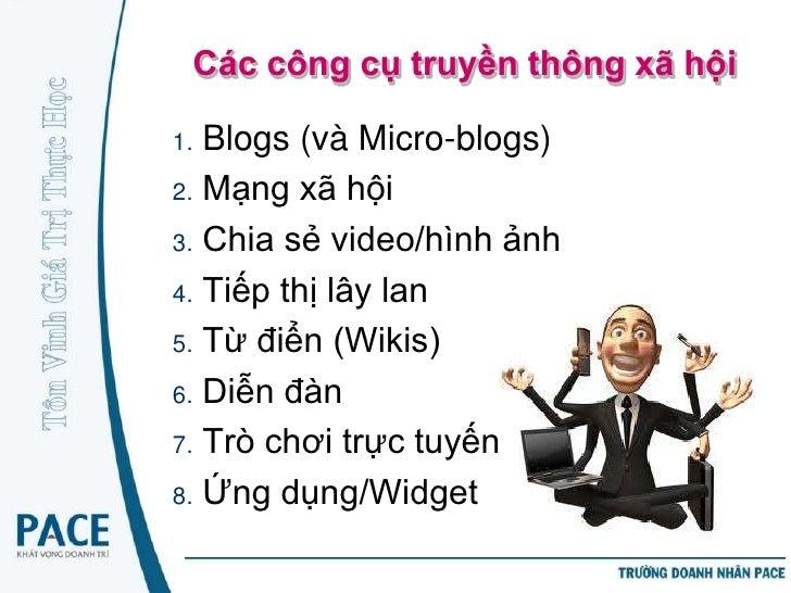Tiểu Blog - Microblogging• Là một dạng blog cho phép người dùng  gửi thông tin văn bản hoặc đa phương  tiện ngắn gọn và cô...