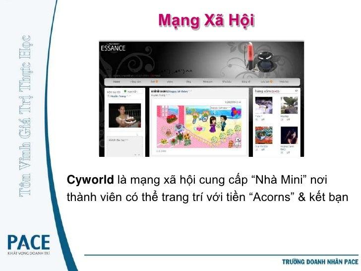 Mạng Xã HộiZing Me tương tự Facebook là nơi để kết bạn,ngoài ra cho phép thành viên viết blog, chơigame trực tuyến và tích...