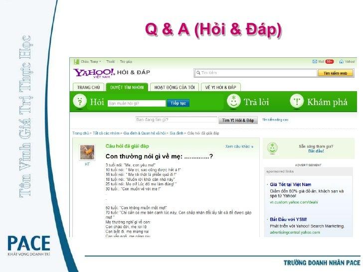 Diễn đàn (Forums)   Là diễn đàn thảo luận trực tuyến nơi thành viên tự    cung cấp/phát triển nội dung   Thành viên tham...