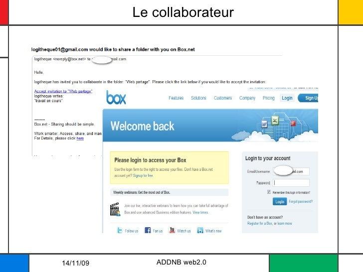 Le collaborateur 14/11/09 ADDNB web2.0