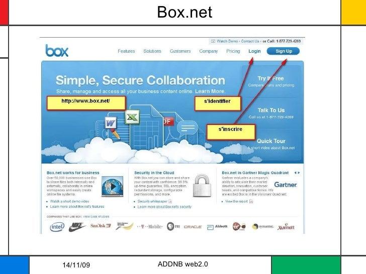 Box.net 14/11/09 ADDNB web2.0
