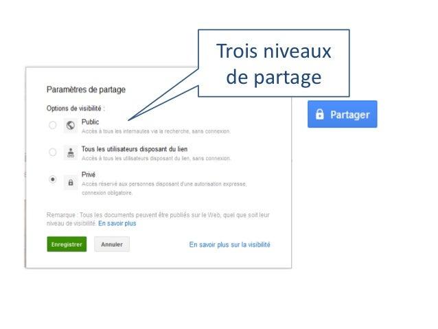 Les fonctions de partage : visible