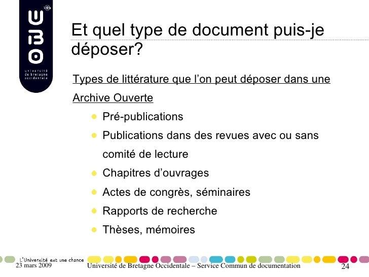Et quel type de document puis-je                déposer?                Types de littérature que l'on peut déposer dans un...