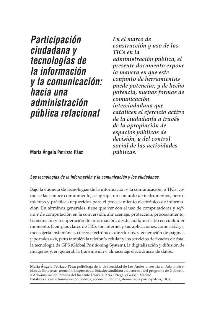 NUEVA SOCIEDAD                                                            María Ángela Petrizzo Páez     Participación    ...