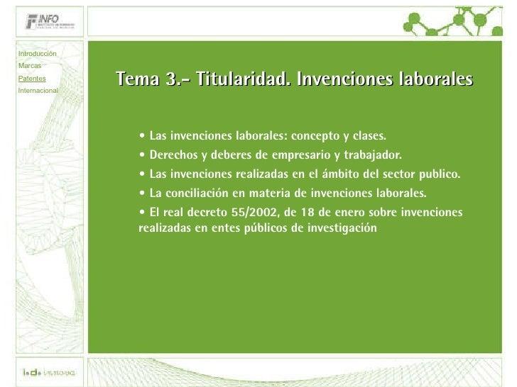 3 tipos de invenciones