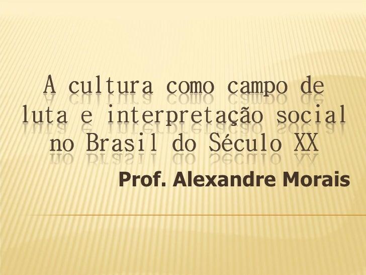 Prof. Alexandre Morais