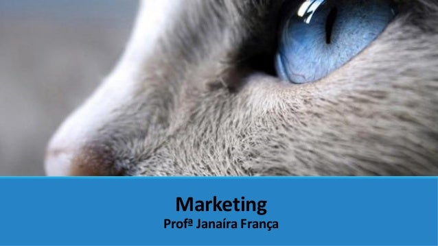 Marketing Profª Janaíra França