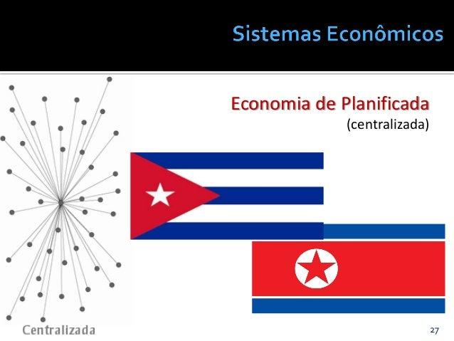 27@JanairaFranca Economia de Planificada (centralizada)