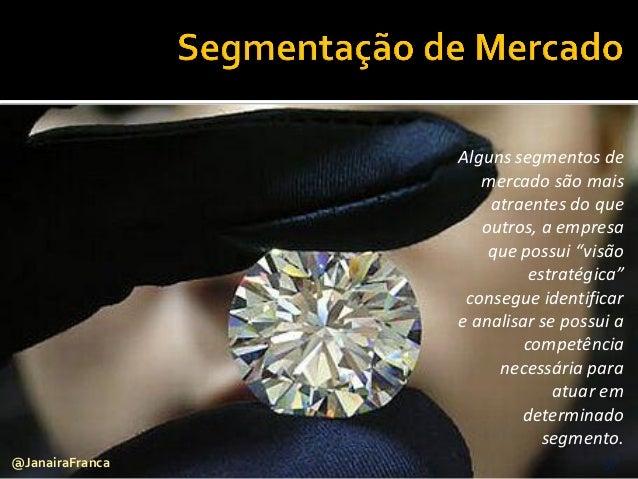 """57@JanairaFranca Alguns segmentos de mercado são mais atraentes do que outros, a empresa que possui """"visão estratégica"""" co..."""