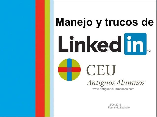 Taller Social Media @uchceu #AlumniUCH Fernando Leandro Comunicación Digital CEU Fernando Leandro Comunicación Digital CEU...