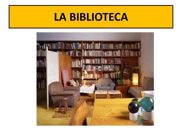 Partes de la casa for Partes de una biblioteca