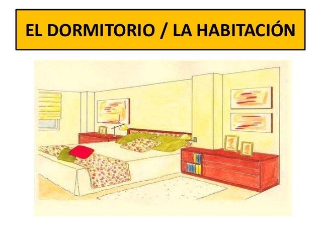 Partes de la casa for Habitacion o pieza de una casa