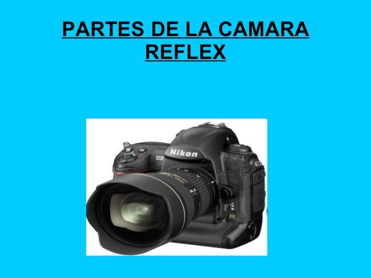 PARTES DE LA CAMARA REFLEX