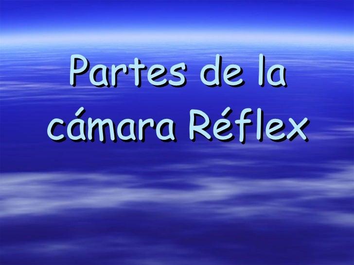 Partes de la cámara Réflex