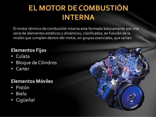 Partes moviles de un motor de 2 tiempos