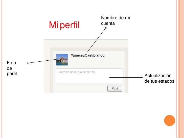 Nombre de mi                     cuenta         Mi perfilFotodeperfil                              Actualización          ...