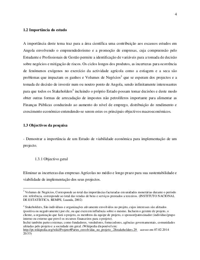Produção textual viabilidade econômica de investimentos 2