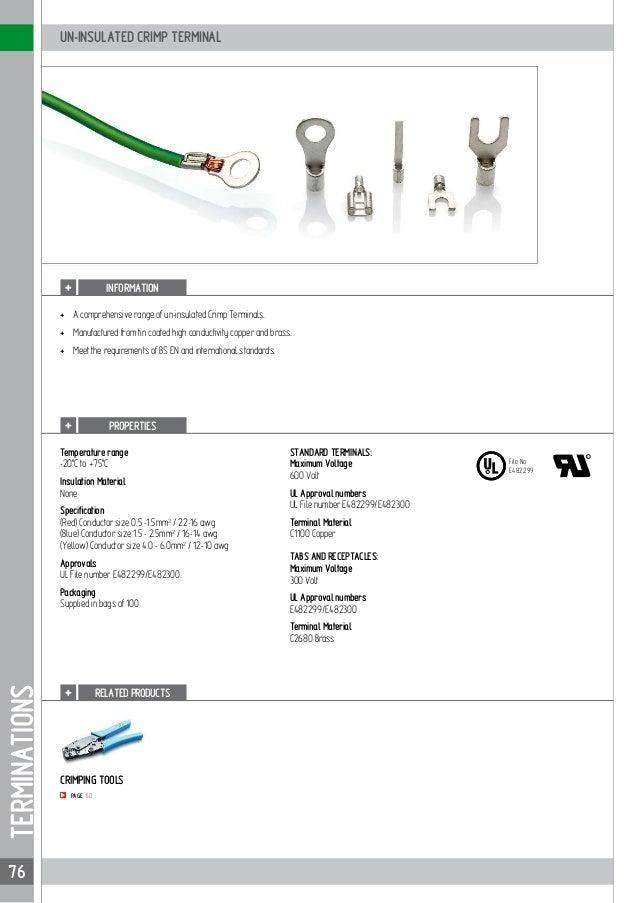 Partex cable accessories_catalogue_2017 | AKBAR TRADING EST.
