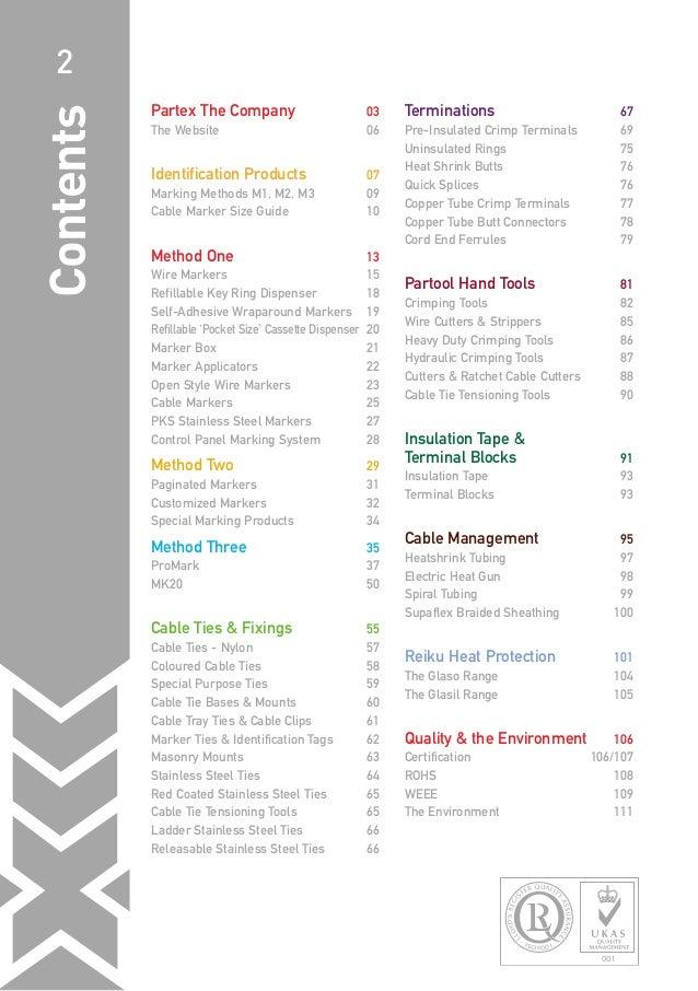 Partex Catalogue