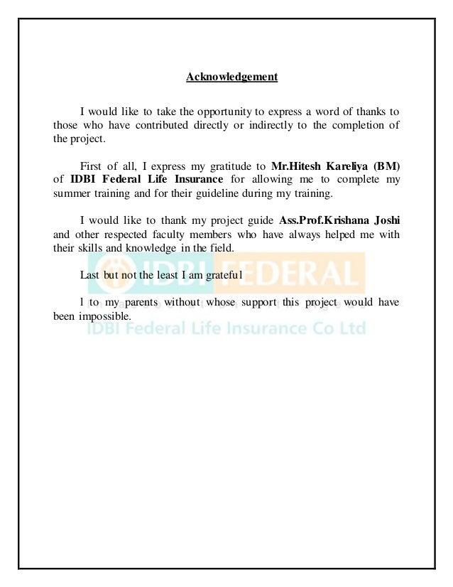 idbi insurance