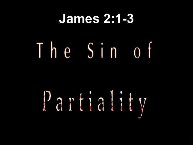 James 2:1-3