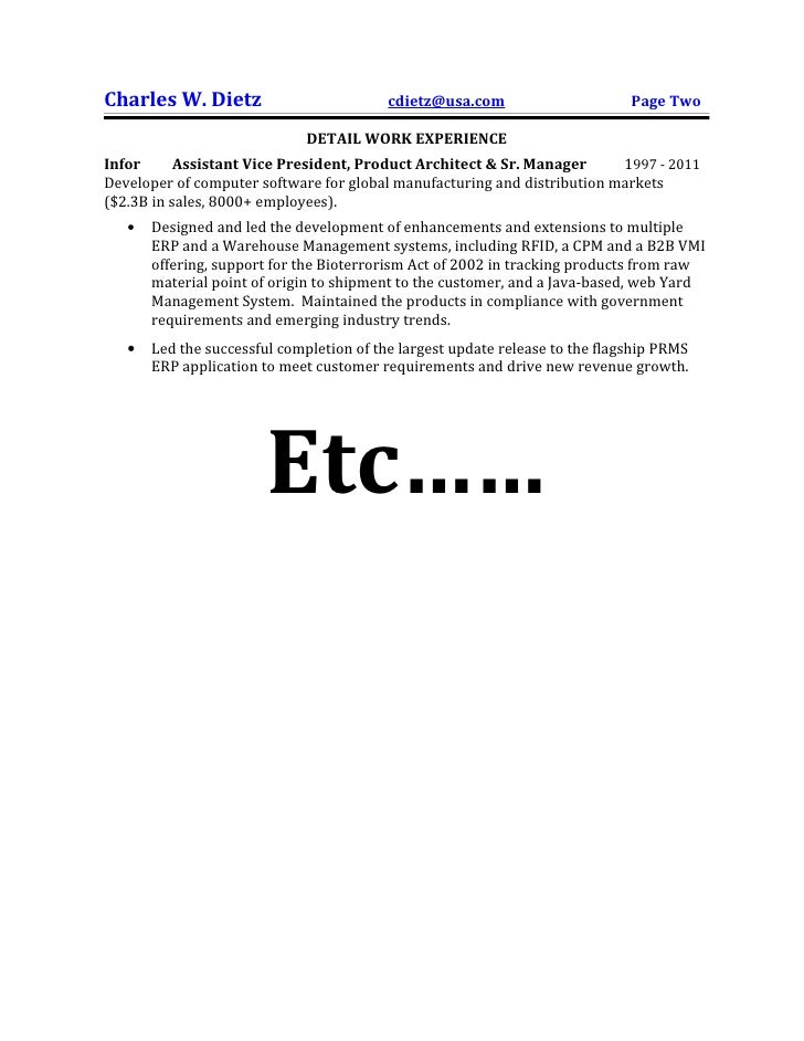 partial sample resume