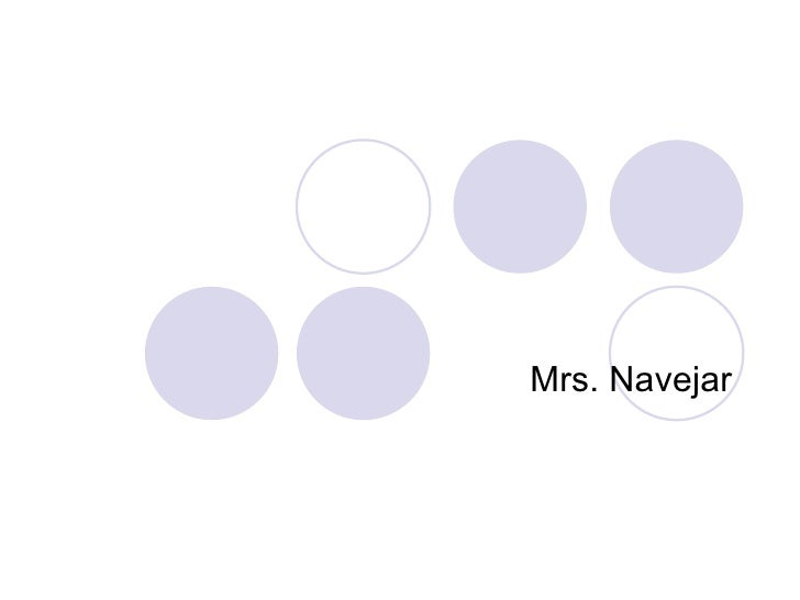 Mrs. Navejar
