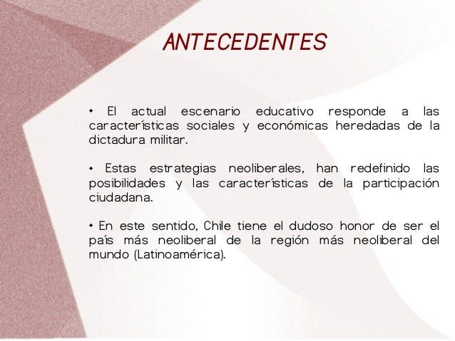 Participación e incidencia de la sociedad civil Slide 2