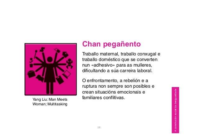 Chan pegañento Traballo maternal, traballo conxugal e traballo doméstico que se converten nun «adhesivo» para as mulleres,...