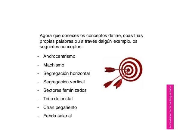 Agora que coñeces os conceptos define, coas túas propias palabras ou a través dalgún exemplo, os seguintes conceptos: - An...