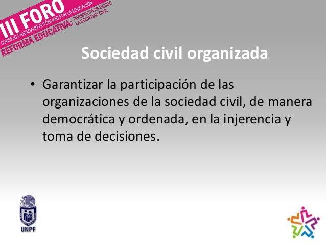Participación social (unpf) Slide 3